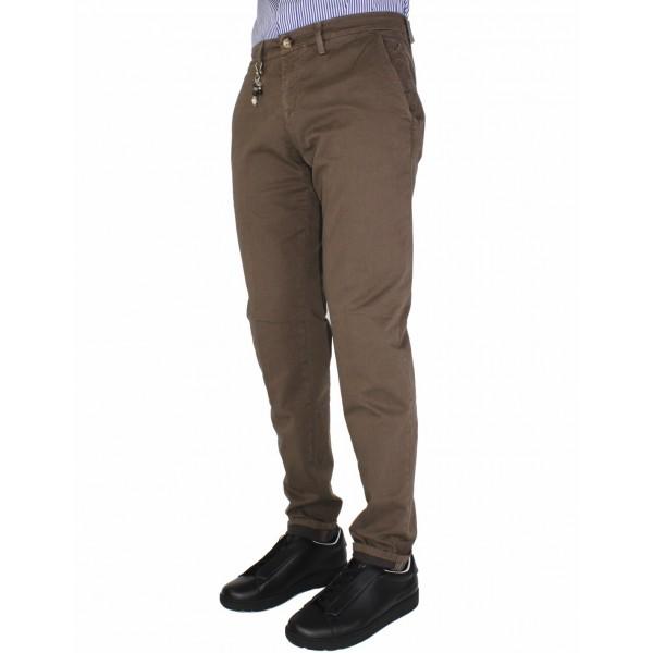 bd50959446237a Jeckerson Pantaloni Uomo Chino Colore Marrone Taglia Americana 31