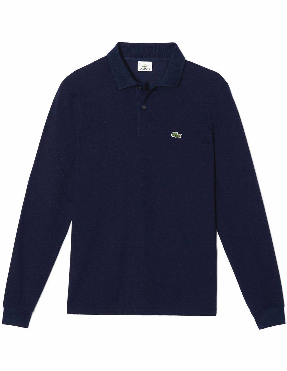 7dd61a0a47 Lacoste Polo Manica Lunga 1312 in Petit Pique Colore Rouge 240 ...