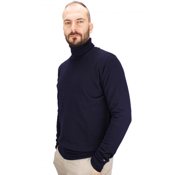 grande sconto nuovo concetto prezzo competitivo Maglione a Collo Alto in Lana Taglia Internazionale M Colore Blu