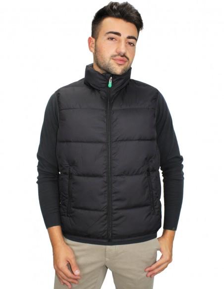 wholesale dealer 0714b 15185 Gilet Smanicato Imbottito Reversibile Warm