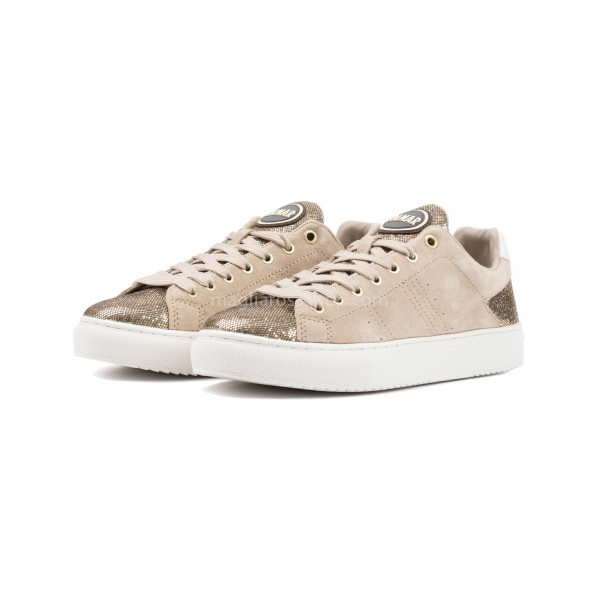 new arrival 3ae30 f4708 Sneakers Donna Bradbury Lux Beige Gold