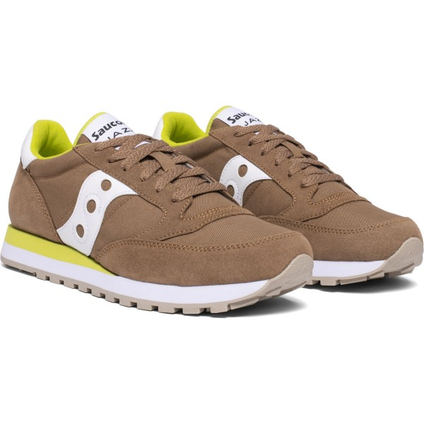 Saucony Jazz Uomo Brown Green